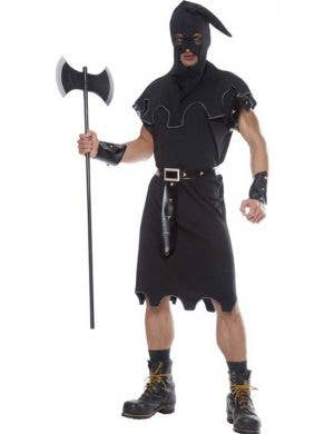 Medieval Executioner Men's Halloween Costume Front View