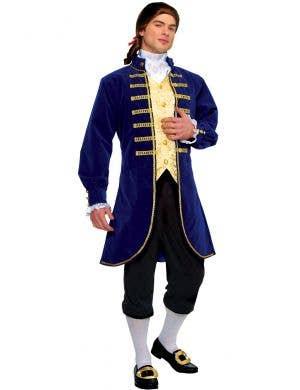 English Noble Men's Aristocrat Costume Main Image