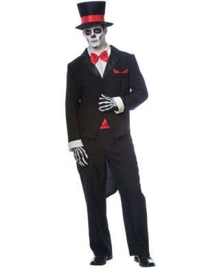 Men's Day Of The Dead Haloween Costume