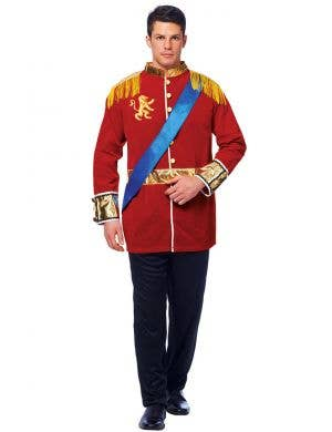 Prince Charming Men's Fairytale Fancy Dress Costume