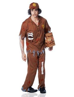 Zombie Postman Men's Halloween Costume Front View