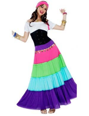 Renaissance Gypsy Women's Fancy Dress Costume