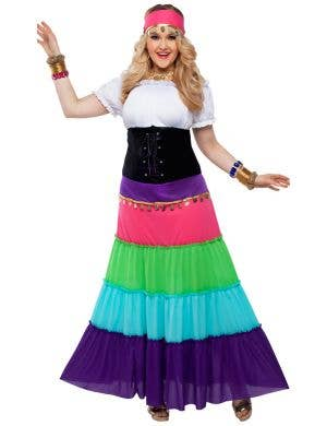 Renaissance Gypsy Plus Size Women's Costume