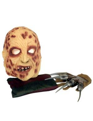 A Nightmare on Elm St Adult's Freddy Krueger Halloween Costume Kit Main Image