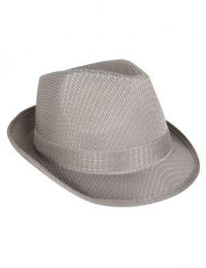 1920's Grey Gangster Fedora Hat