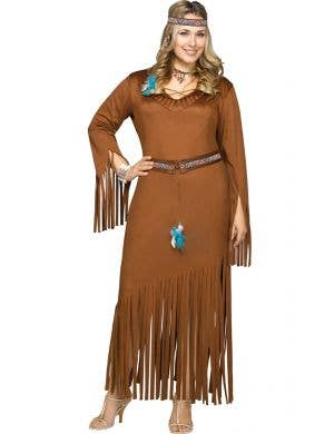 Native American Maiden Women's Plus Size Costume