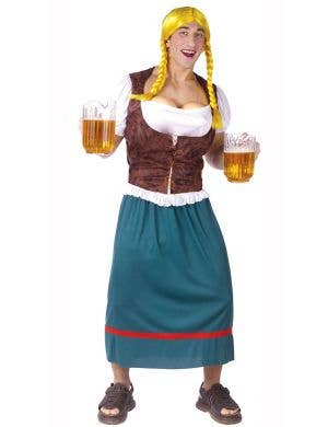 Novelty Men's Miss Oktoberbreasts Costume Main Image