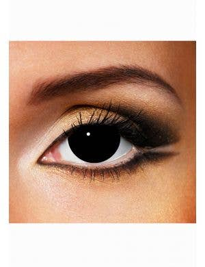 Black out mini sclera Halloween coloured contact lenses