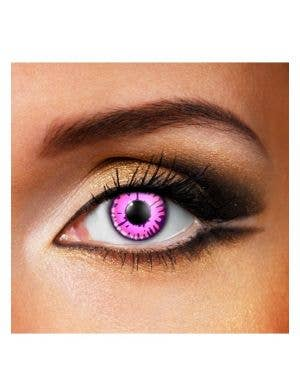 Enchanted Eye Pink 90 Day Wear Contact Lenses
