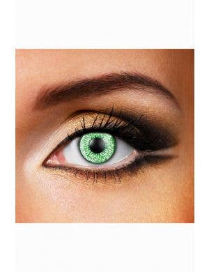 Green Mystic Adults Contact Lenses
