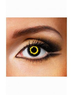 Yellow Werewolf Contact Lenses Accessory