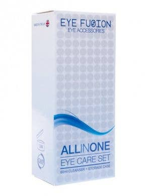 All In One Contact Lenses Case and Solution Set Front View