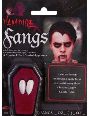 Vampire Fangs Halloween Accessory