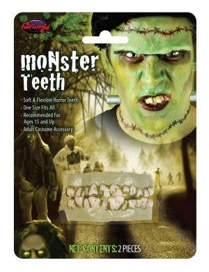 Zombie Halloween Costume Accessory Teeth