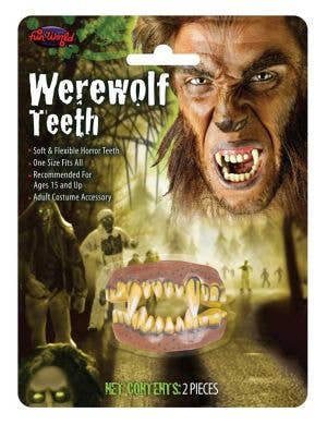 Werewolf Halloween Costume Teeth