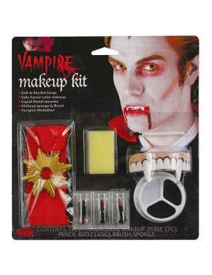 Count Dracula Halloween Costume Makeup Kit