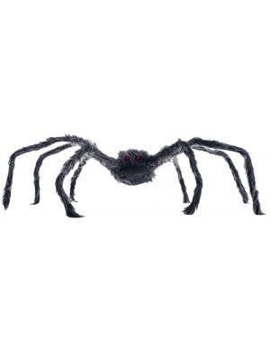 Grey Posable Spider Halloween Decoration