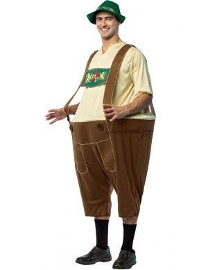 Lederhosen Hoopster Men's German Novelty Costume