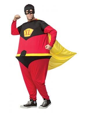 Superhero Hoopster Novelty Men's Fancy Dress Costume