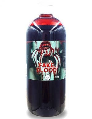 Jumbo 1 Litre Runny Blood Halloween Special Effects