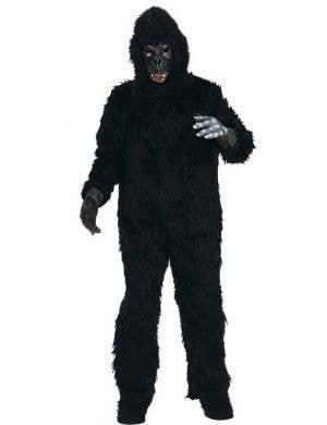 Hairy Black Gorilla Fancy Dress Costume
