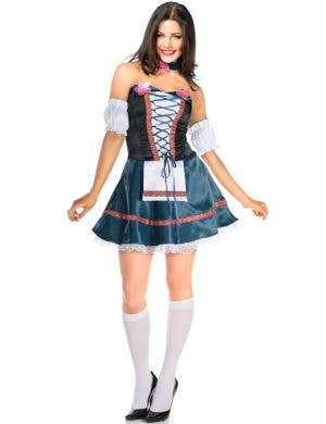 Flirty Beer Girl Sexy Women's Oktoberfest Costume