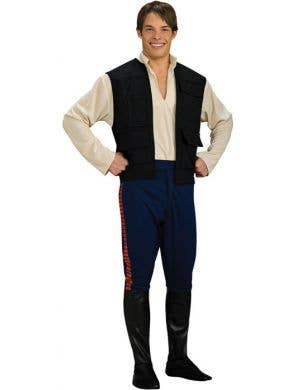 Han Solo Official Star Wars Deluxe Men's Costume
