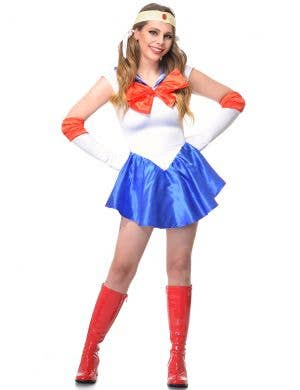 Sailor Moon Women's Sexy Anime Dress Up Costume
