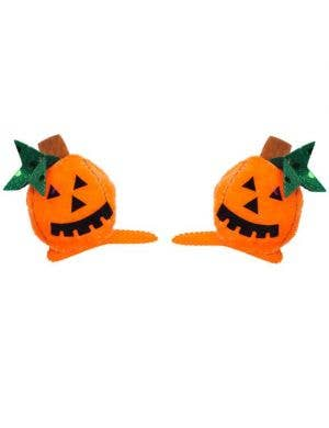 Pumpkin Hair Clips Halloween Costume Accessory