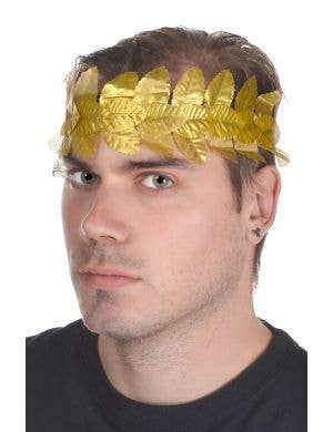 Gold Leaf Ancient Roman Laurel Wreath Headpiece
