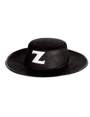 Zorro Costume Hat - Black Feltex