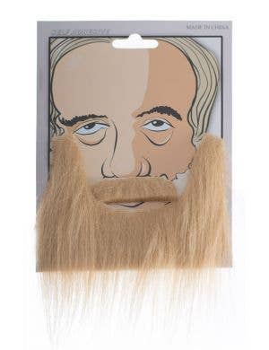 Amish Blonde Fake Beard and Moustache Costume Accessory