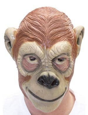 Ape Brown Latex Costume Accessory Mask