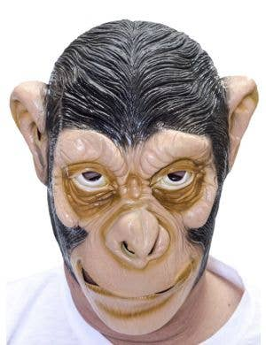 Ape Black Latex Costume Accessory Mask