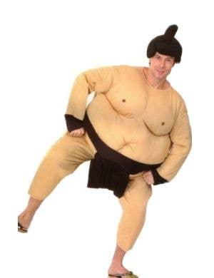 Adult's Hilarious Plush Sumo Wrestler Costume