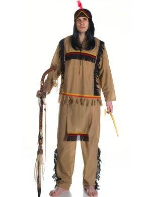 Men's American Indian Fancy Dress Outfit