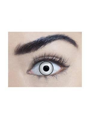 Manson Black Rimmed White 90 Day Wear Contact Lenses