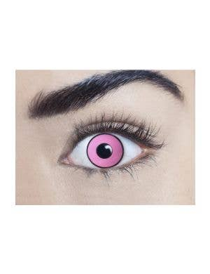 Climax Pink 90 Day Wear UV Reactive Contact-Lenses