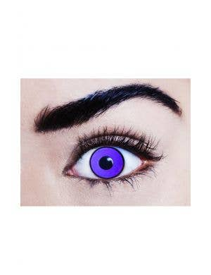 Poison Ivy Purple 90 Day Wear UV Reactive Contact Lenses