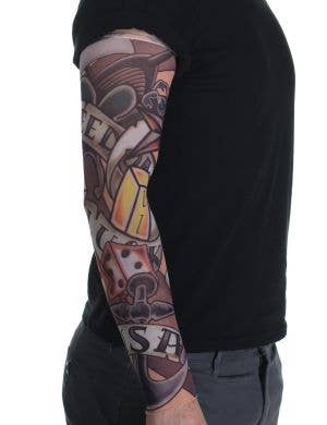 Freedom and Luck Adult's Novelty Tattoo Sleeve