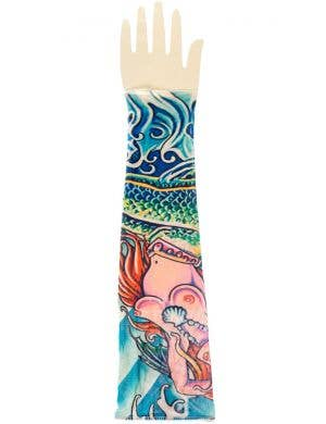 Sailor Tattoo Sleeve Mermaid Costume Accessory