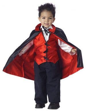 Lil Vampire Toddler Boys Halloween Costume
