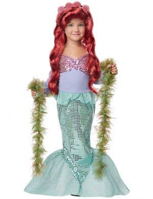 The Little Mermaid Toddler Girls Disney Princess Costume Main Image
