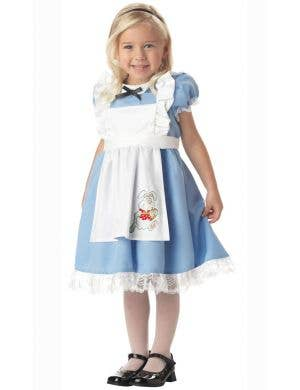 Girl's Fairytale Alice in Wonderland Book Week Costume Main Image