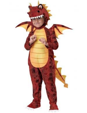 Fire Breathing Dragon Toddler Boys Costume