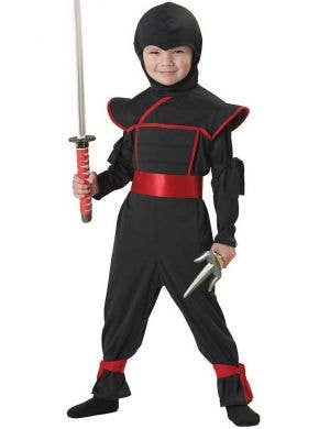 Japanese Ninja Toddler Boys Costume Main Image