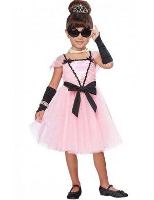 Movie Star Toddler Girls Costume Main Image