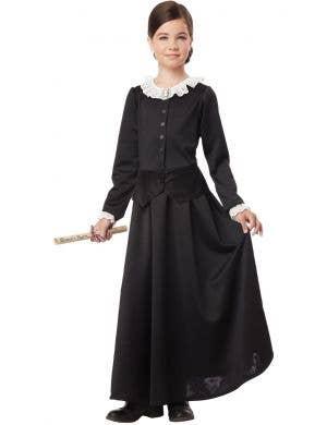 Susan B Anthony Girls Historical Costume