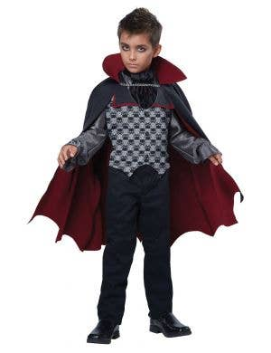 Count Bloodfiend Boys Vampire Halloween Costume