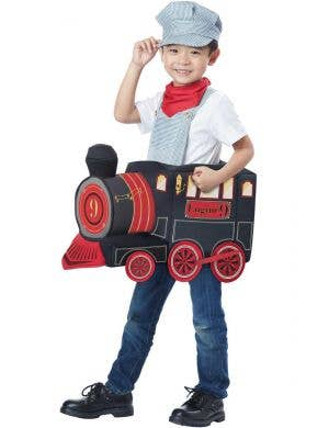 All Aboard Toddler Boys Ride On Train Costume